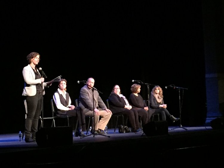 """PHOTOS: """"NEWTOWN"""" SCREENING AT THE ULSTER PERFORMING ARTS CENTER"""
