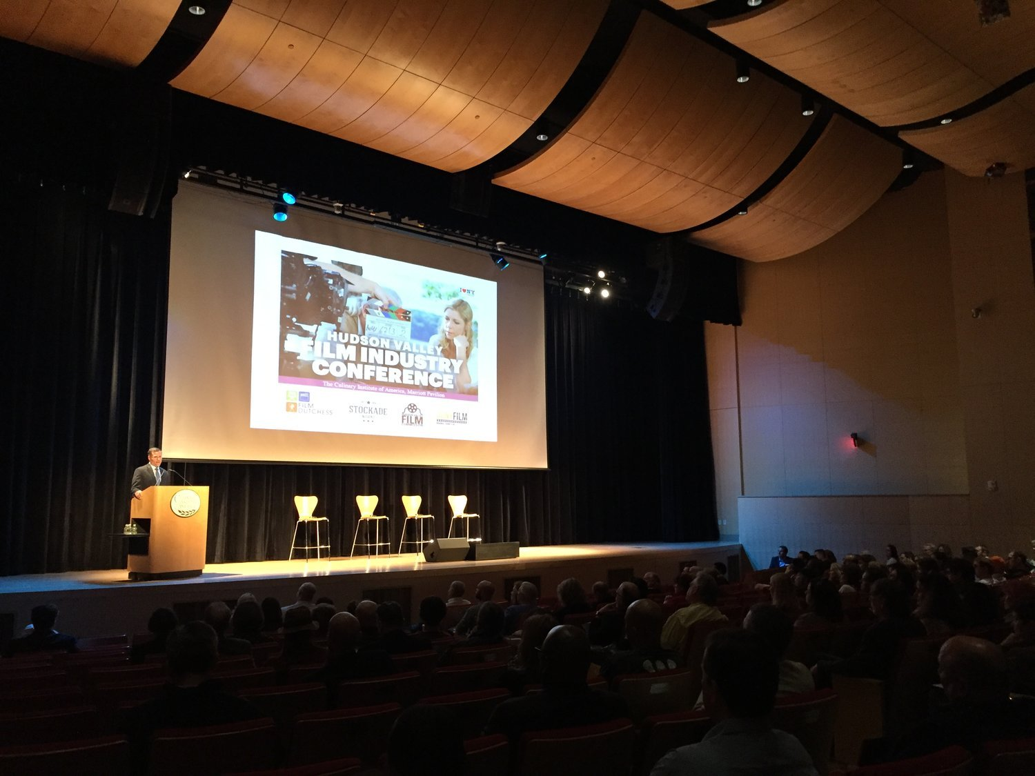HUDSON VALLEY FILM INDUSTRY CONFERENCE IN HYDE PARK